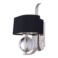 Quoizel Lighting Uptown Gotham 1 Light Wall Sconce in Imperial Silver UPGO8701IS alternative photo thumbnail