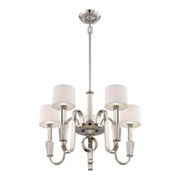 Quoizel Lighting Uptown Park Avenue Penthouse 5 Light Chandelier in Imperial Silver UPPA5005IS alternative photo thumbnail