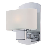 Quoizel Lighting Uptown 3rd Ave 1 Light Bath Vanity in Polished Chrome UPTA8601C