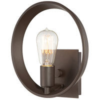 Quoizel UPTR8701WT Uptown Theater Row 1 Light 10 inch Western Bronze Wall Sconce Wall Light photo thumbnail