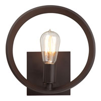 Quoizel UPTR8701WT Uptown Theater Row 1 Light 10 inch Western Bronze Wall Sconce Wall Light alternative photo thumbnail