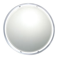 Quoizel Lighting Uptown York Mirror in Polished Chrome UPYK42828C alternative photo thumbnail