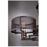 Quoizel Union Station 4 Light Chandelier in Western Bronze UST5003WT
