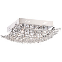 Quoizel Valla 9 Light Flush Mount in Polished Chrome VLA1618C