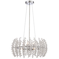 Valla 6 Light 20 inch Polished Chrome Pendant Ceiling Light