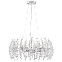 Valla 8 Light 23 inch Polished Chrome Pendant Ceiling Light