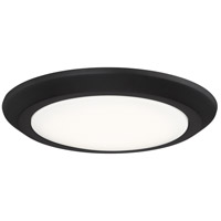 Quoizel VRG1612OI Verge LED 12 inch Oil Rubbed Bronze Flush Mount Ceiling Light