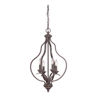 Quoizel Lighting Ventura 4 Light Chandelier in Palladian Bronze VTA5204PN