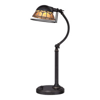 Quoizel Vivid Whitney LED Table Lamp in Imperial Bronze VVWH6220IB