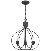 Quoizel WAL5017GK Walsh 3 Light 17 inch Grey Ash Pendant Ceiling Light