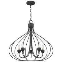 Quoizel WAL5025GK Walsh 5 Light 25 inch Grey Ash Pendant Ceiling Light