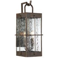 Quoizel WAR8408GZ Ward 2 Light 19 inch Gilded Bronze Outdoor Wall Light