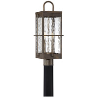 Quoizel WAR9008GZ Ward 2 Light 21 inch Gilded Bronze Outdoor Post Light