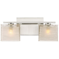 Westcap LED 15 inch Brushed Nickel Bath Light Wall Light