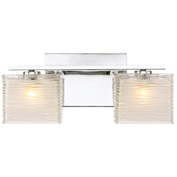 Quoizel WCP8602C Westcap 2 Light 15 inch Polished Chrome Bath Light Wall Light Medium