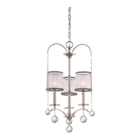 Whitney 3 Light 16 inch Imperial Silver Chandelier Ceiling Light