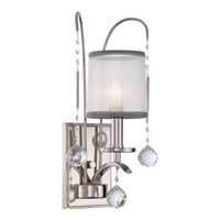 Quoizel Whitney 1 Light Wall Sconce in Imperial Silver WHI8701IS