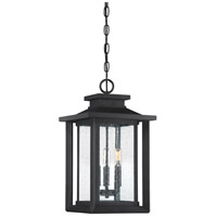 Quoizel WKF1911EK Wakefield 3 Light 11 inch Earth Black Outdoor Hanging Lantern
