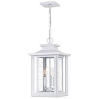 Quoizel WKF1911W Wakefield 3 Light 11 inch White Lustre Outdoor Hanging Lantern