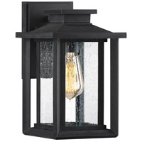 Quoizel WKF8407EK Wakefield 1 Light 11 inch Earth Black Outdoor Wall Lantern