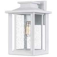 Quoizel WKF8409W Wakefield 1 Light 14 inch White Lustre Outdoor Wall Lantern