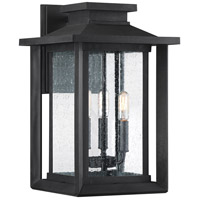 Quoizel WKF8411EK Wakefield 3 Light 17 inch Earth Black Outdoor Wall Lantern