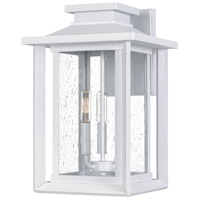 Quoizel WKF8411W Wakefield 3 Light 17 inch White Lustre Outdoor Wall Lantern