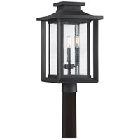 Quoizel WKF9011EK Wakefield 3 Light 19 inch Earth Black Outdoor Post Lantern