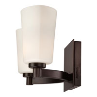 Quoizel Lighting Winston 2 Light Bath Light in Medici Bronze WSN8602Z alternative photo thumbnail