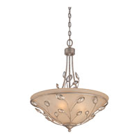 Quoizel Lighting Wesley 4 Light Pendant in Italian Fresco WSY2820IF