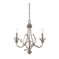 Quoizel Lighting Wesley 3 Light Chandelier in Italian Fresco WSY5003IF
