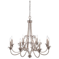 Wesley 8 Light 30 inch Italian Fresco Chandelier Ceiling Light