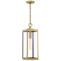 Quoizel WVR1907A Westover 1 Light 7 inch Antique Brass Outdoor Hanging Lantern