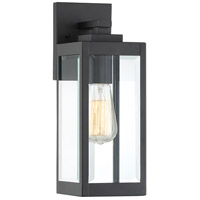 Westover 1 Light 14 inch Earth Black Outdoor Wall Lantern