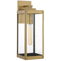 Quoizel WVR8406A Westover 1 Light 17 inch Antique Brass Outdoor Wall Lantern