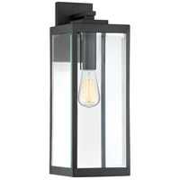 Westover 1 Light 20 inch Earth Black Outdoor Wall Lantern