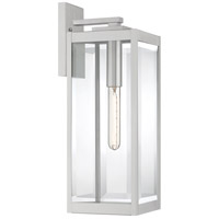 Quoizel WVR8407SS Westover 1 Light 20 inch Stainless Steel Outdoor Wall Lantern
