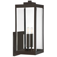 Quoizel WVR8409WT Westover 2 Light 23 inch Western Bronze Outdoor Wall Lantern