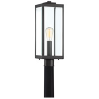 Quoizel WVR9007EK Westover 1 Light 21 inch Earth Black Outdoor Post Lantern  photo thumbnail