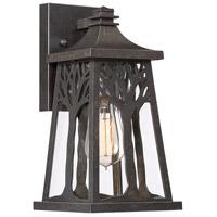 Quoizel WWD8407IB Wildwood 1 Light 12 inch Imperial Bronze Outdoor Wall Lantern Small