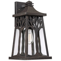 Quoizel WWD8409IB Wildwood 1 Light 18 inch Imperial Bronze Outdoor Wall Lantern, Large