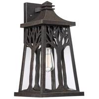 Quoizel WWD8409IB Wildwood 1 Light 18 inch Imperial Bronze Outdoor Wall Lantern Large