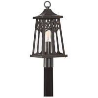 Quoizel WWD9009IB Wildwood 1 Light 22 inch Imperial Bronze Outdoor Post Lantern, Large