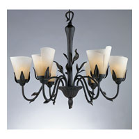 Quoizel Yuma 6 Light Chandelier in Imperial Bronze YU5149IB