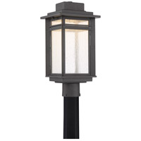 Beacon 19 inch Stone Black Outdoor Post Lantern