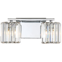 Quoizel Platinum Divine 2 Light Bath Light in Polished Chrome PCDV8602C