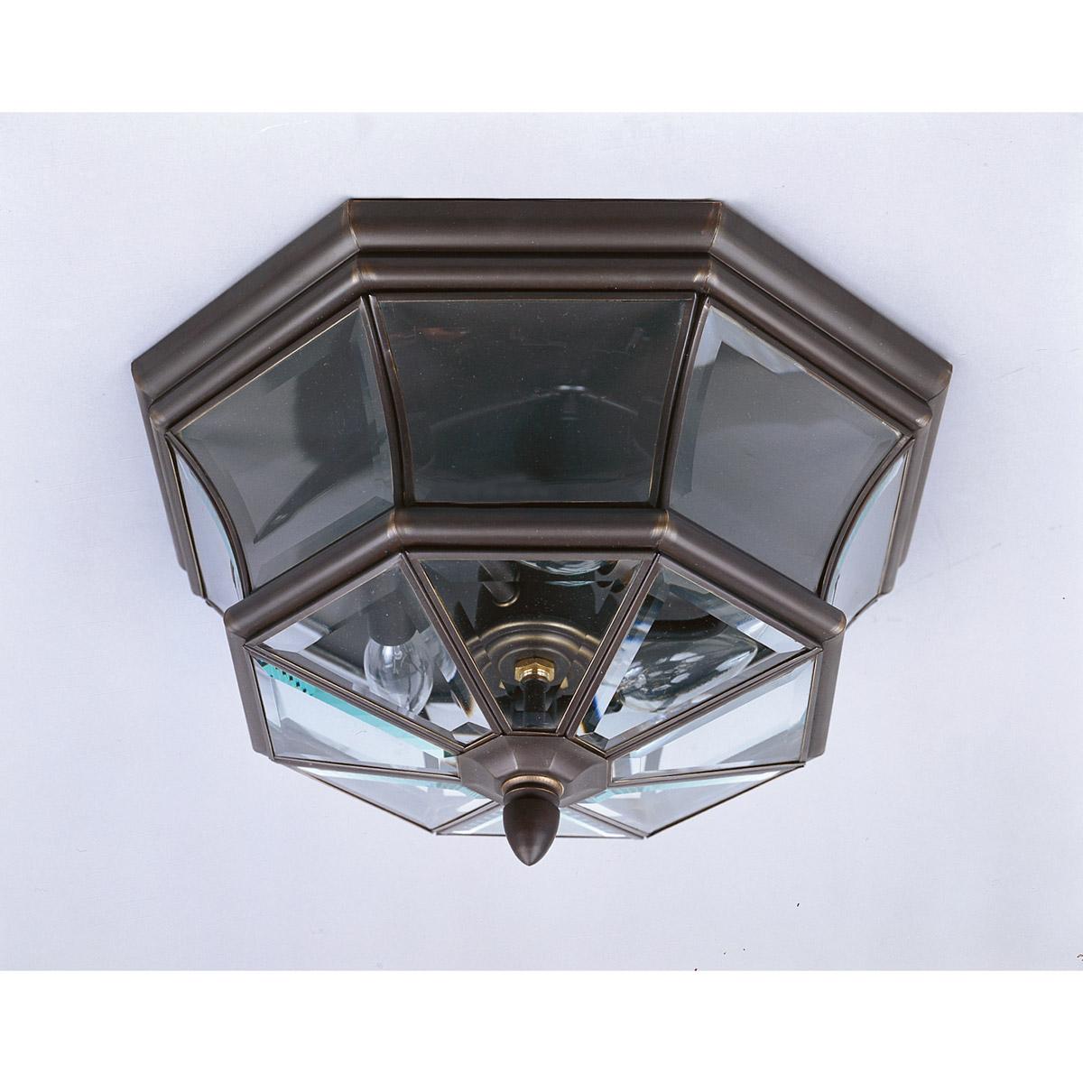 Quoizel NY1794Z Newbury 3 Light 15 inch Medici Bronze Outdoor Semi ...
