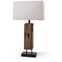 Regina Andrew 13-1016 Reclaimed Wood 34 inch 150.00 watt Natural Table Lamp Portable Light