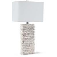 Regina Andrew 13-1078 Platinum 29 inch 100.00 watt Ambered Silver Table Lamp Portable Light