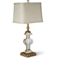 Regina Andrew 13-1100 Parisian 25 inch 100.00 watt Antique Gold Leaf Table Lamp Portable Light